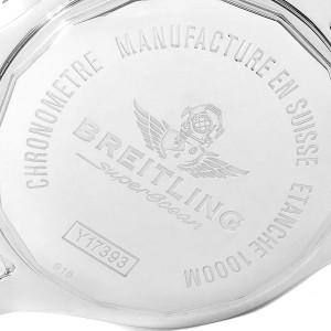 Breitling Aeromarine Superocean 44 Black Dial Watch Y17393