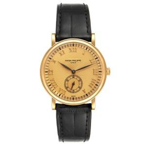 Patek Philippe Calatrava Officier Rose Gold Mens Watch 5022