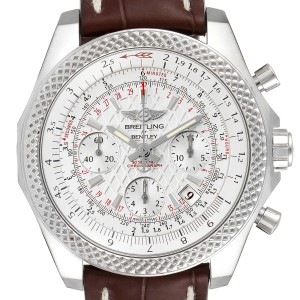 Breitling Bentley B05 Unitime Silver Dial Mens Watch