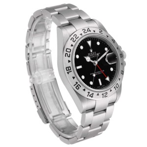 Rolex Explorer II Black Dial Automatic Steel Mens Watch 16570