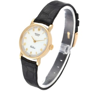 Rolex Cellini Classic Yellow Gold MOP Dial Ladies Watch 5109 Papers