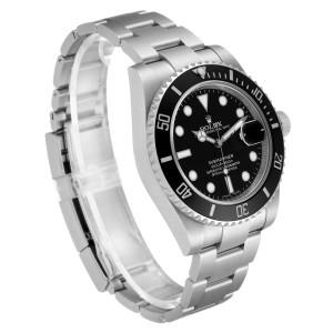 Rolex Submariner Ceramic Bezel Steel Mens Watch 116610
