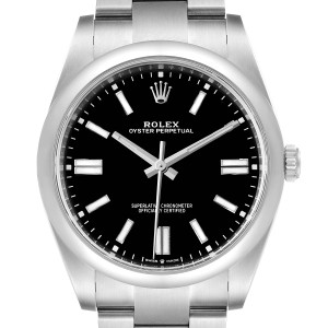 Rolex Oyster Perpetual 39mm Automatic Steel Mens Watch 124300 Unworn