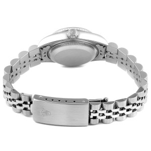 Rolex Datejust Steel White Gold Diamond Ladies Watch 79174