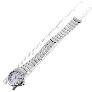 Cartier Santos Ronde 33mm Automatic Steel Mens Watch 1920