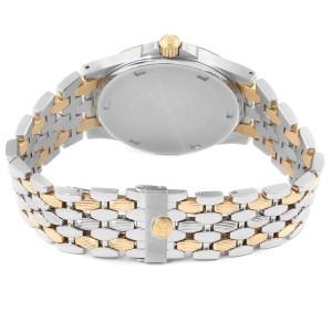 Patek Philippe Neptune Black Dial Steel 18k Yellow Gold Mens Watch 5080
