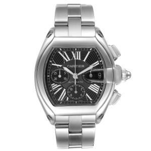 Cartier Roadster XL Chronograph Black Dial Mens Watch W62020X6
