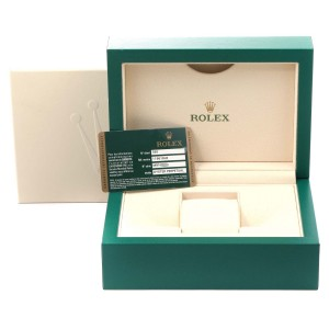 Rolex Submariner Black Dial Yellow Gold Mens Watch 116618 Box Card