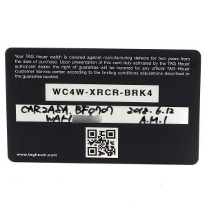 TAG Heuer Carrera Calibre Heuer 01 Skeleton Mens Watch CAR2A8A Box Card