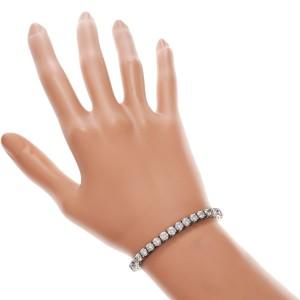 14K White Gold with 11.00ct Diamond Tennis Bracelet