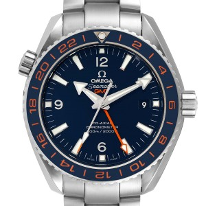 Omega Seamaster Planet Ocean GMT Mens Watch 232.30.44.22.03.001 Box Card