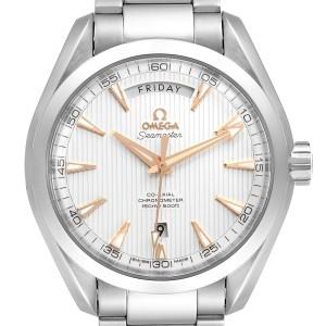 Omega Aqua Terra 150m Co-Axial Mens Watch 231.10.42.22.02.001 Box Papers
