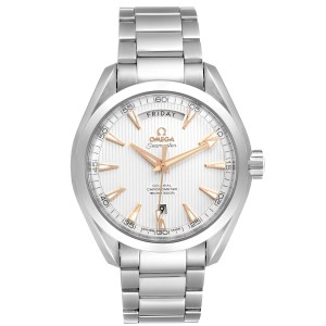 Omega Aqua Terra 150m Co-Axial Mens Watch 231.10.42.22.02.001 Box Papers