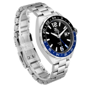 Tag Heuer Formula 1 Batman Bezel Steel Mens Watch WAZ211A Box Card