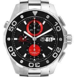 Tag Heuer Aquaracer AIR-K Nishikori Japan Limited Mens Watch CAJ2113 Card