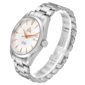 Omega Seamaster Aqua Terra Silver Dial Steel Mens Watch 2502.34.00