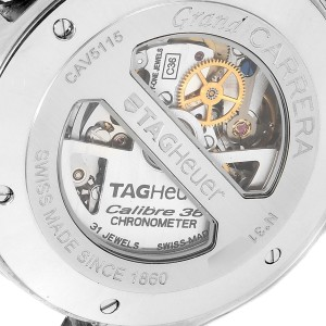 Tag Heuer Grand Carrera Calibre 36 RS Caliper Mens Watch CAV5115