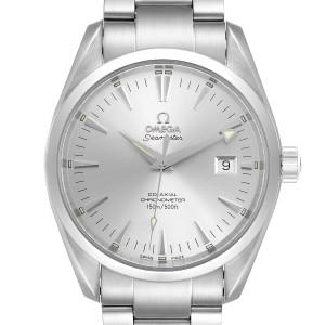 Omega Seamaster Aqua Terra Silver Dial Steel Mens Watch 2503.30.00