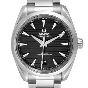 Omega Seamaster Aqua Terra Black Dial Watch 220.10.38.20.01.001 Unworn