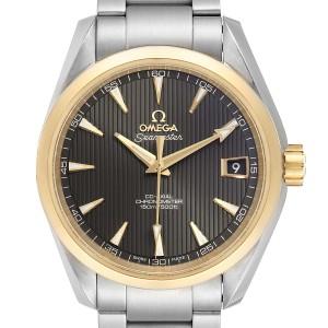 Omega Seamaster Aqua Terra Steel Yellow Gold Watch 231.20.39.21.06.004 Card
