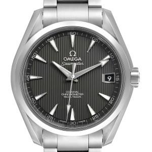 Omega Seamaster Aqua Terra Grey Dial Mens Watch 231.10.39.21.06.001