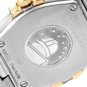 Omega Constellation Steel Yellow Gold Diamond Watch 123.20.24.60.58.001 Unworn