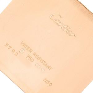 Cartier Santos Dumont Mens 18k Rose Gold Mens Watch W2006951
