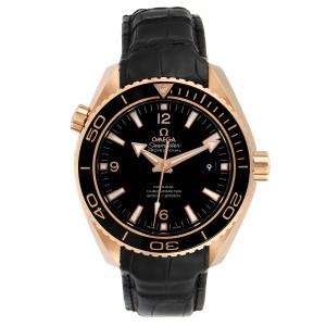 Omega Seamaster Planet Ocean 18k Rose Gold Watch 232.63.46.21.01.001 Unworn
