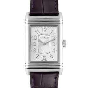 Jaeger LeCoultre Reverso Ultra Thin Steel Ladies Watch 268.8.47