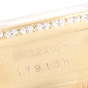 Rolex President Ladies Yellow Gold Myriad Diamond Ladies Watch 179138