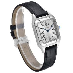 Cartier Santos Dumont Large Steel Mens Watch WSSA0022