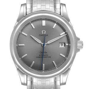 Omega DeVille Co-Axial Chronometer Steel Mens Watch 4531.40.00 Card