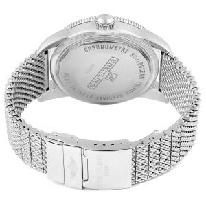 Breitling Superocean Heritage 46 Silver Dial Mesh Bracelet Watch A17320