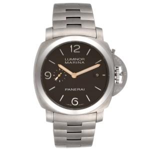 Panerai Luminor Marina 1950 3 Days Titanium 44mm Watch PAM00352