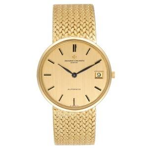 Vacheron Constantin Patrimony 18K Yellow Gold Automatic Mens Watch 44012