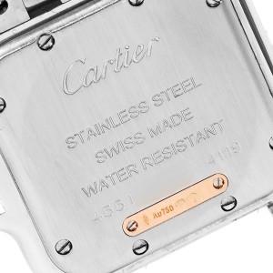 Cartier Panthere Ladies Steel Rose Gold Diamond Ladies Watch W3PN0007