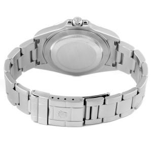 Rolex Explorer II 40mm White Dial Parachrom Hairspring Mens Watch