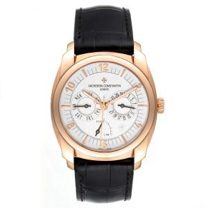 Vacheron Constantin Quai De L'ile Day Date Power Reserve Rose Gold Watch 85050