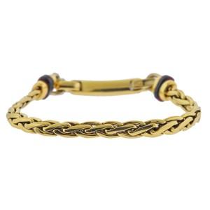 Pomellato Garnet Gold Bracelet