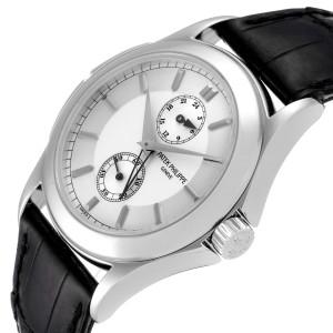 Patek Philippe Calatrava Travel Time Platinum Mens Watch 5134