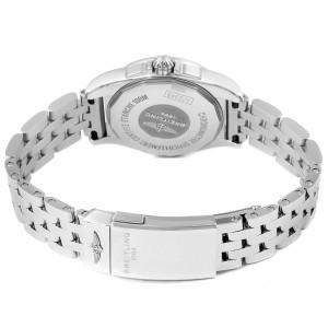 Breitling Galactic 29 MOP Diamond Steel Ladies Watch A72348 Unworn