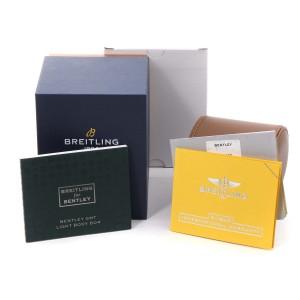 Breitling Bentley GMT Light Body B04 Titanium Mens Watch EB0433 Unworn
