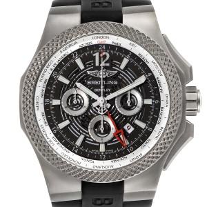Breitling Bentley GMT Light Body Grey Dial Titanium Mens Watch EB0432 Unworn