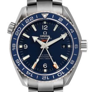 Omega Seamaster Planet Ocean GMT 44mm Watch 232.90.44.22.03.001 Box Card
