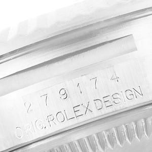 Rolex Datejust 28 Steel White Gold MOP Diamond Ladies Watch 279174 Box Card