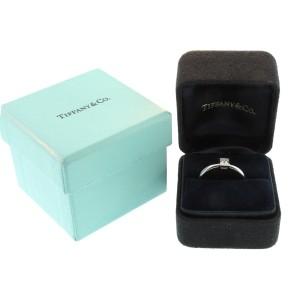 Tiffany & Co. Platinum and Diamond Engagement Ring