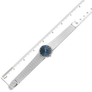 Audemars Piguet White Gold Blue Diamond Dial Cocktail Ladies Watch