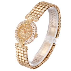 Cartier Colisee Yellow Gold Diamond Limited Edition Ladies Watch