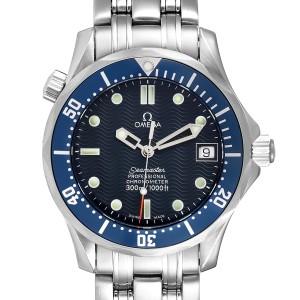 Omega Seamaster Bond 36 Midsize Blue Dial Steel Mens Watch 2551.80.00