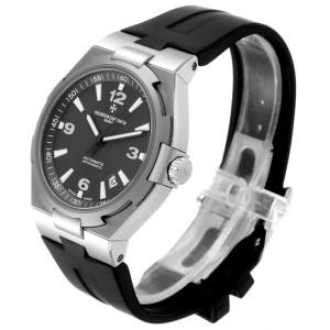Vacheron Constantin Overseas Deep Stream Grey Dial Steel Mens Watch 47040